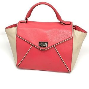 Kate spade pink small leather bag